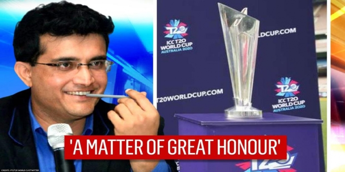 'Matter of Great Honour for BCCI to Host T20 World Cup': Sourav Ganguly