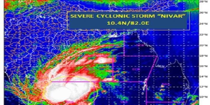Cyclone Nivar to Intensify Into Very Severe Cyclonic Storm: IMD